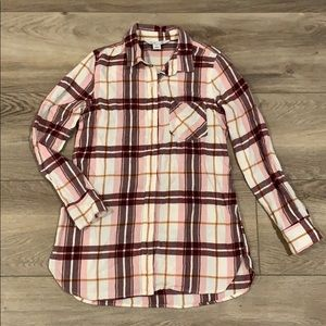 Old Navy Tunic Flannel - XS